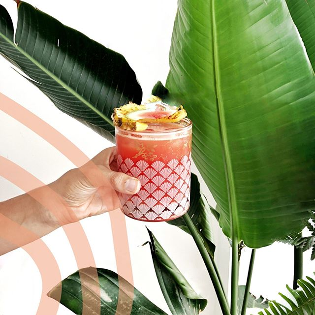 Ready for the long weekend with a simple fruity cocktail, sharing the recipe later today!