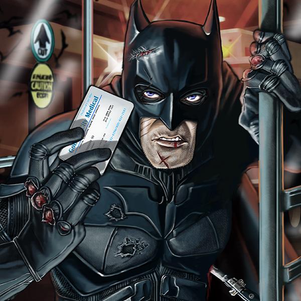 holy medical bills batman