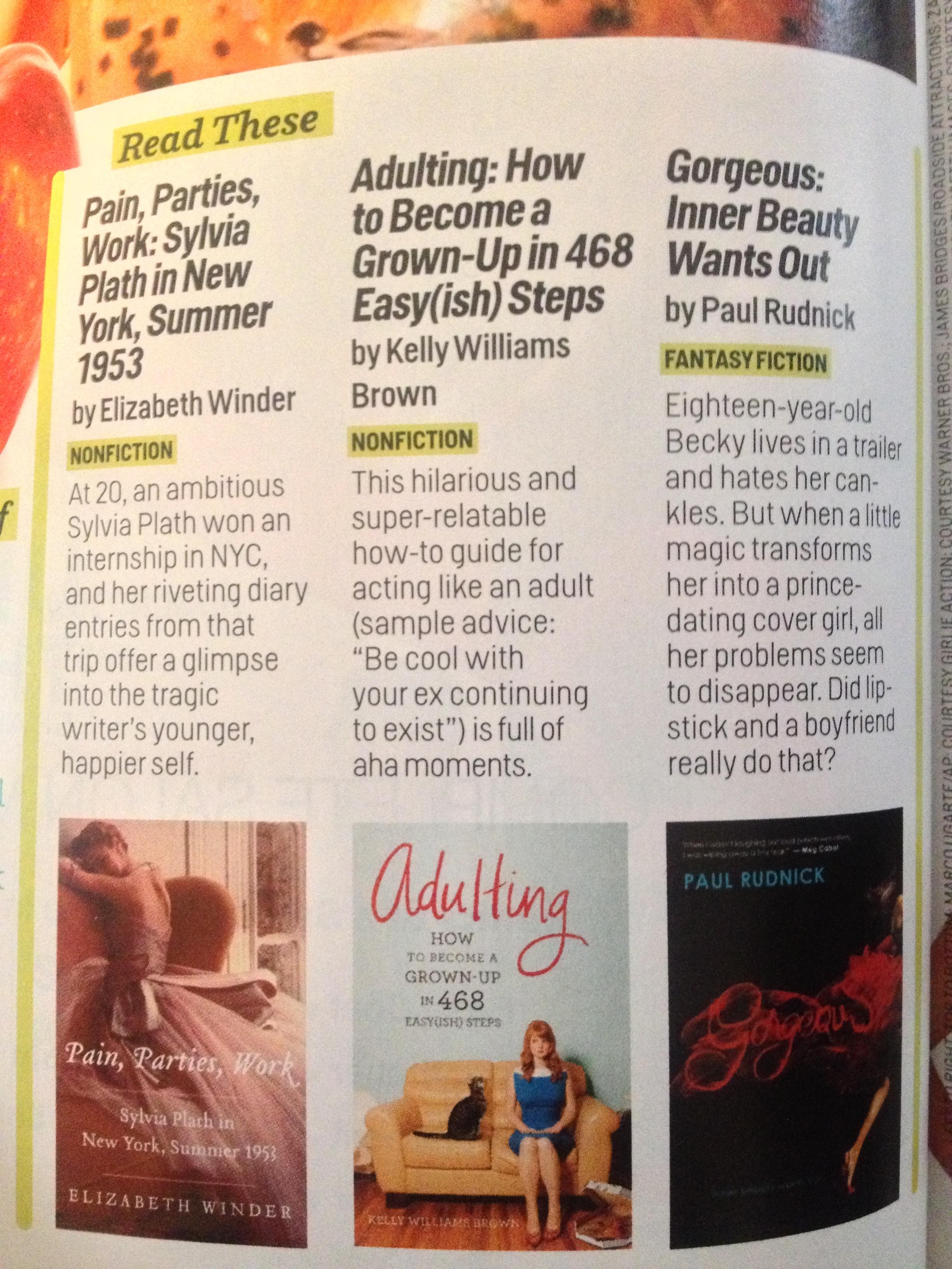Cosmopolitan,  May 2013