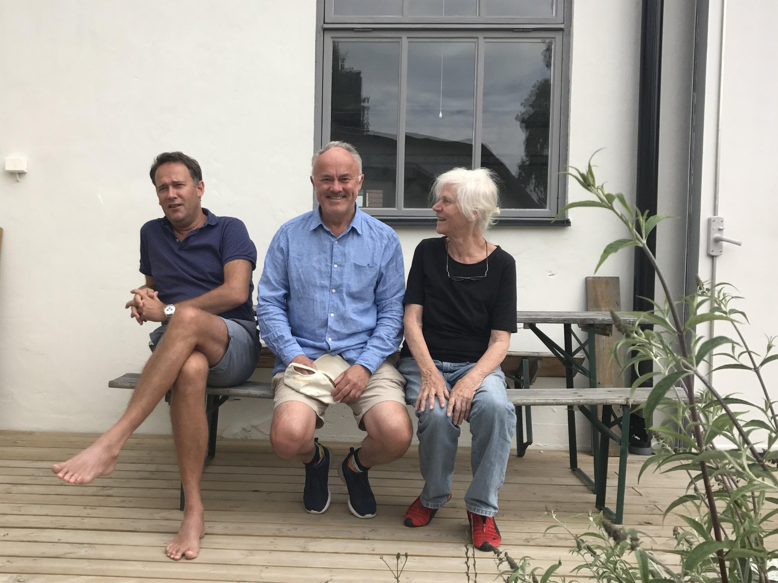Matthias van Arkel, Tom Böttiger och Ann Wolff