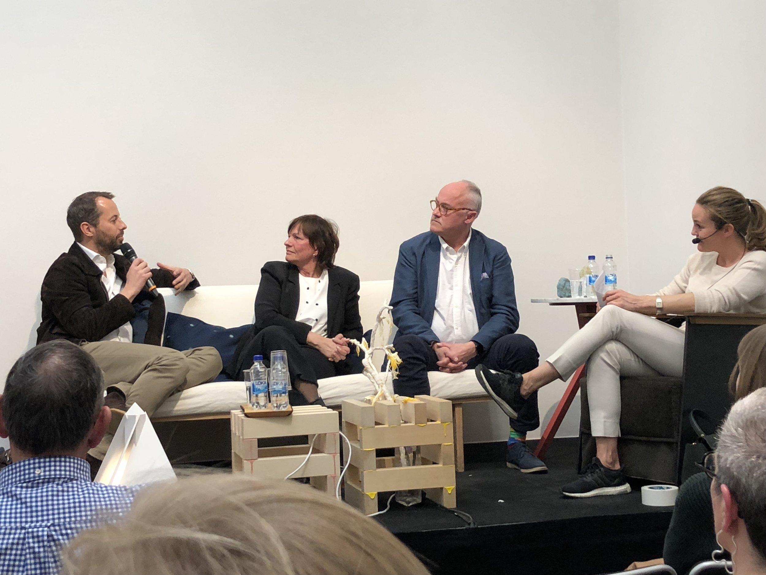 Johan Stackelberg, Kerstin Hessius, Tom Böttiger och Karolina Bertorp