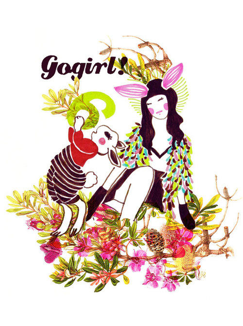 6th ANNIVERSARY  GoGirl magazine