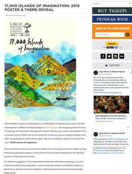 Online  -  Ubud Writers Festival