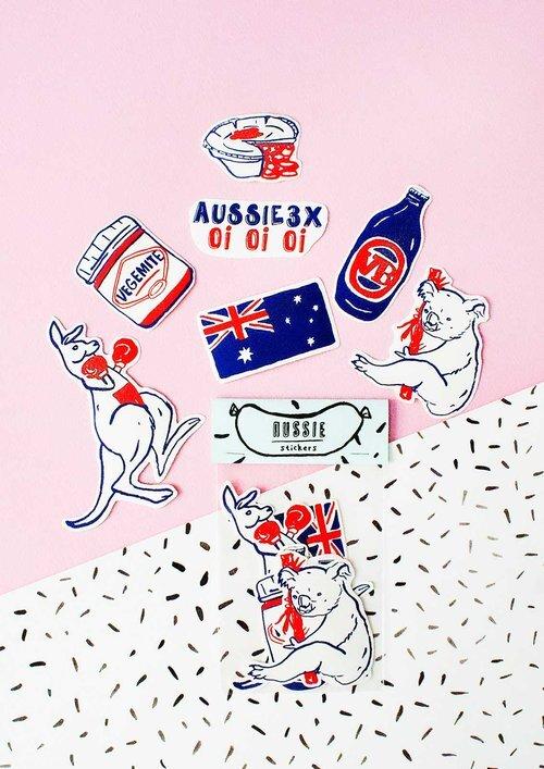 STICKERS  illustration, sticker