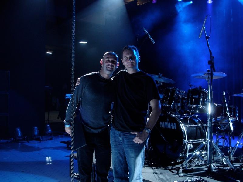 Spike & Mark Sinton take a breather