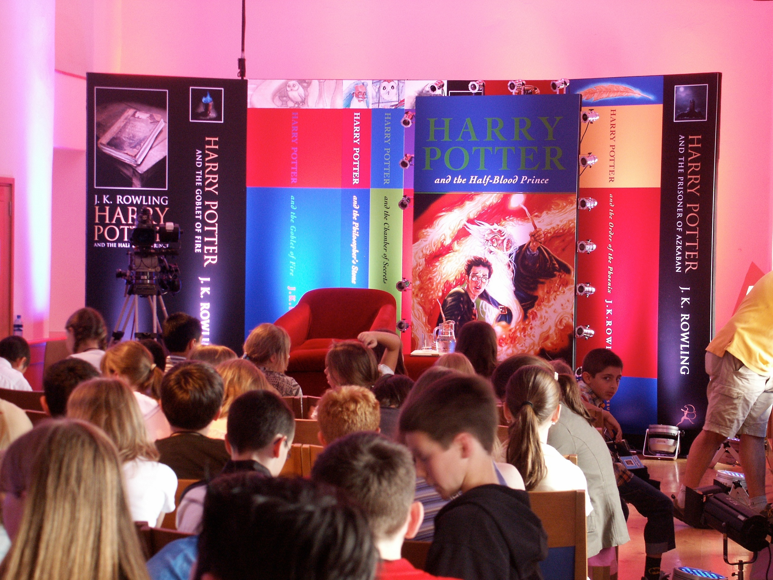Harry Potter Press Conference 2005