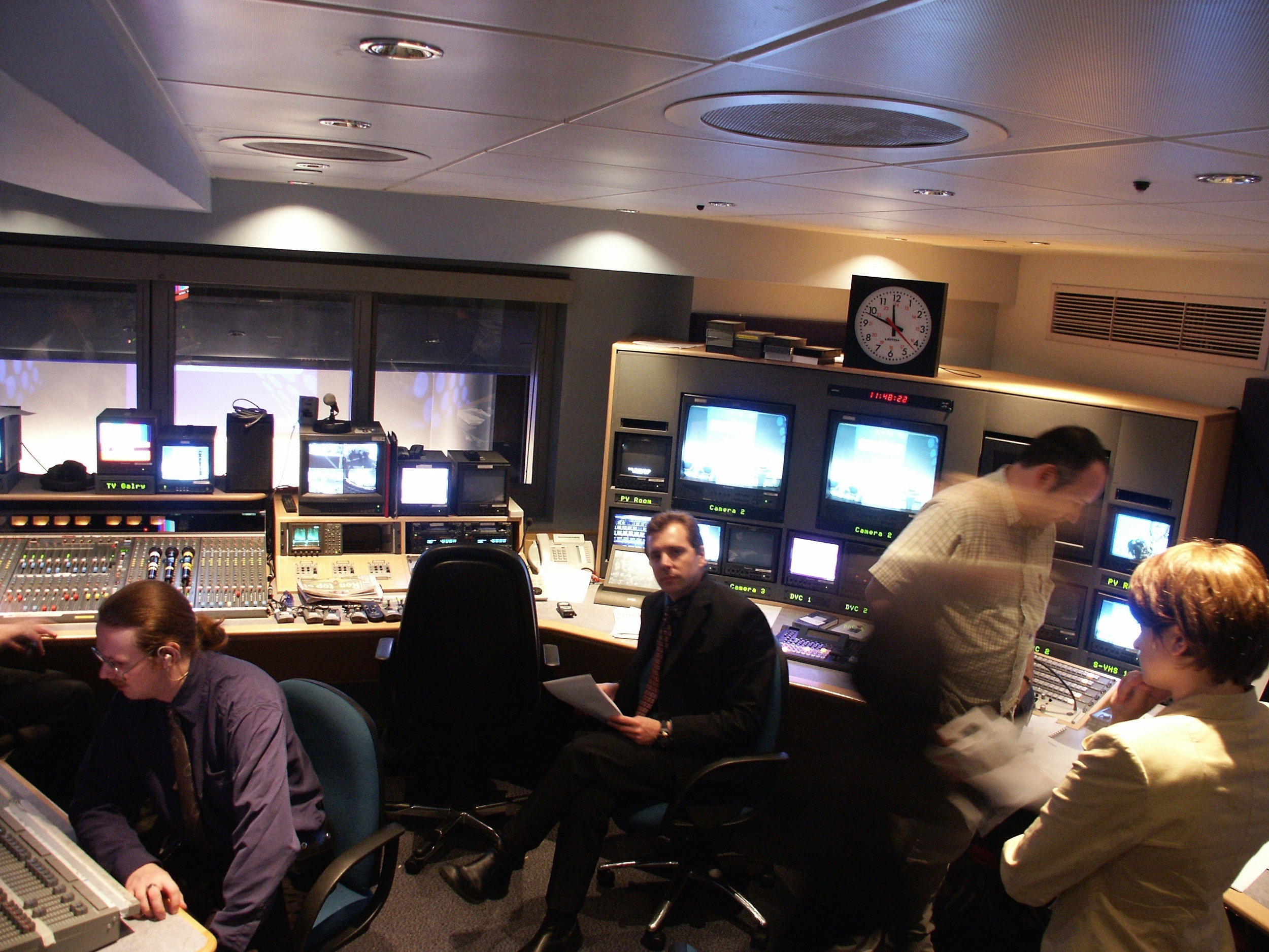 spike & mike in BT control room.jpg