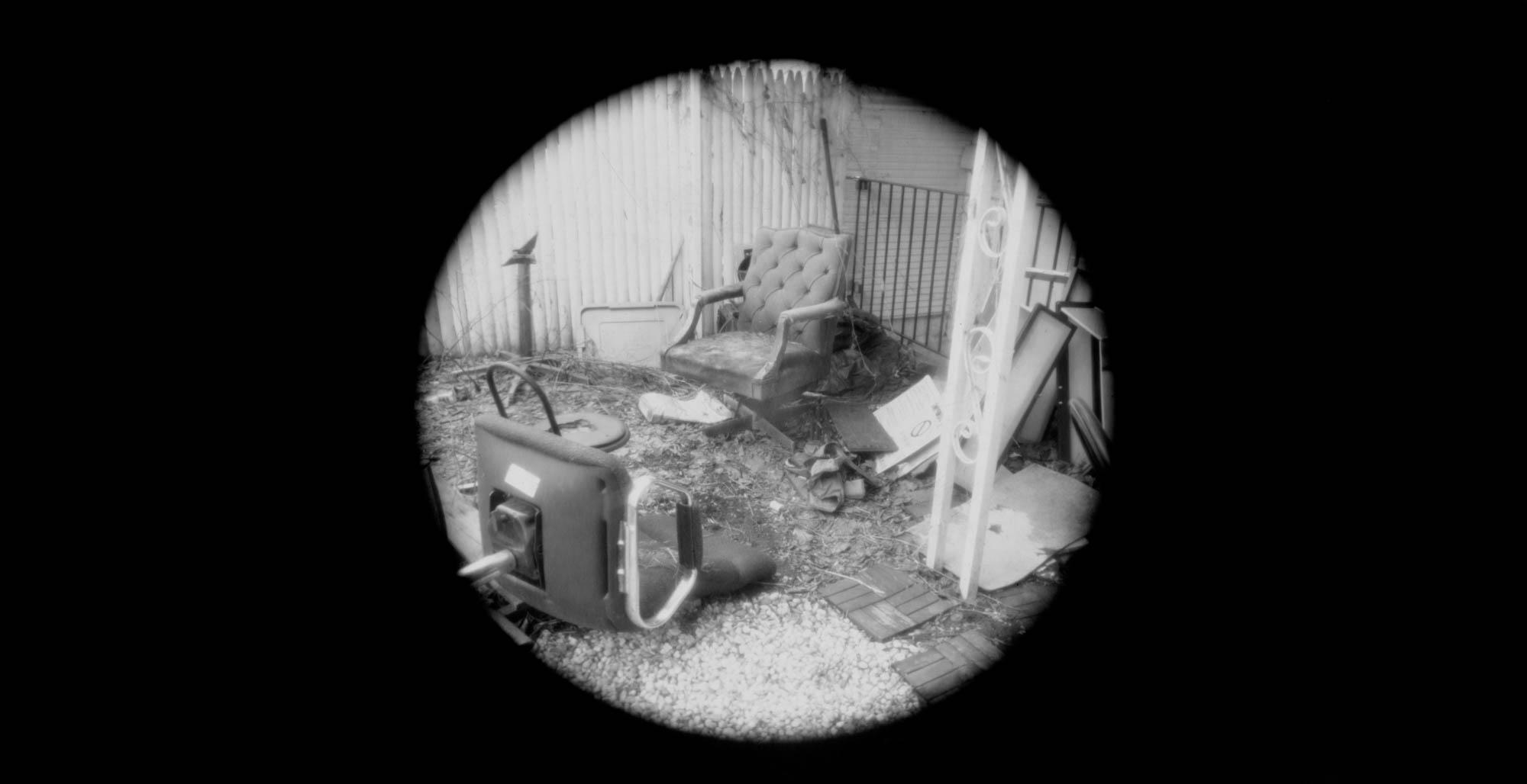 Black and white paper IPhone film camera