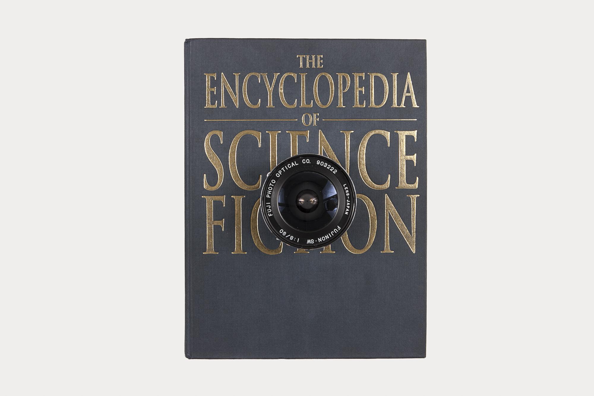 Book camera    book made into large format camera