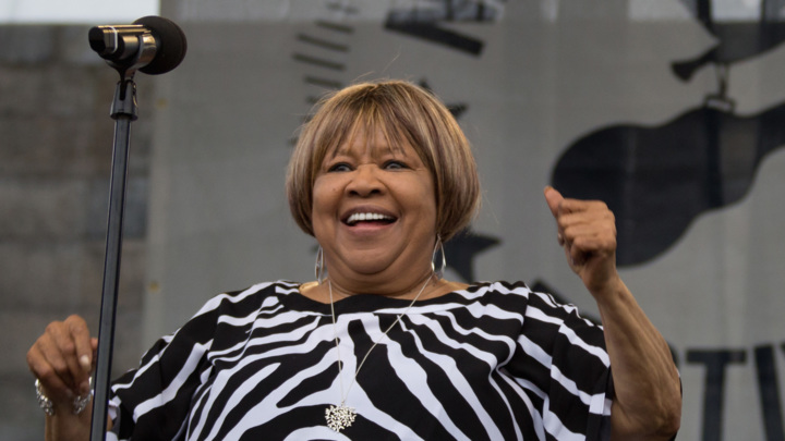 Mavis Staples, who will be honored at a special concert in November, performs at the 2014 Newport Folk Festival. Douglas Mason/Getty Images