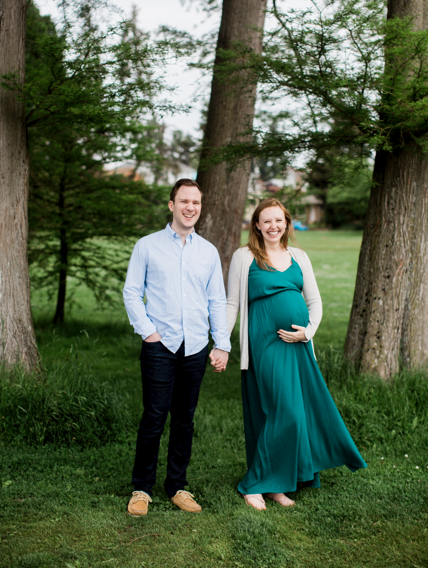 green lake seattle washington maternity portraits