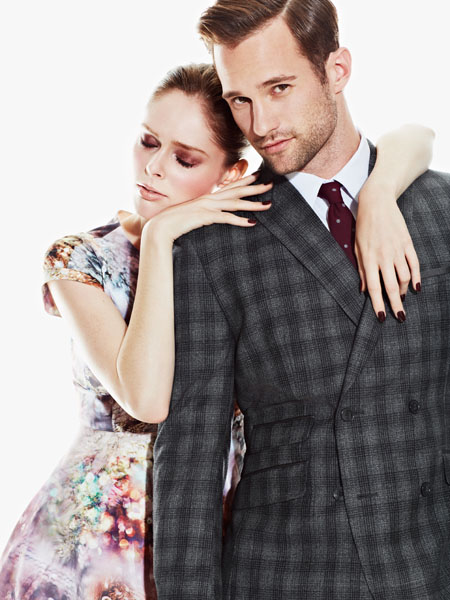 Coco Rocha (Spot 6) and Maxim Budnik (Sutherland/Chantale Nadeau) for Yorkdale Mall