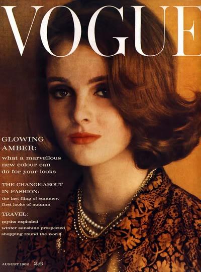 Grace Coddington on the cover of Vogue
