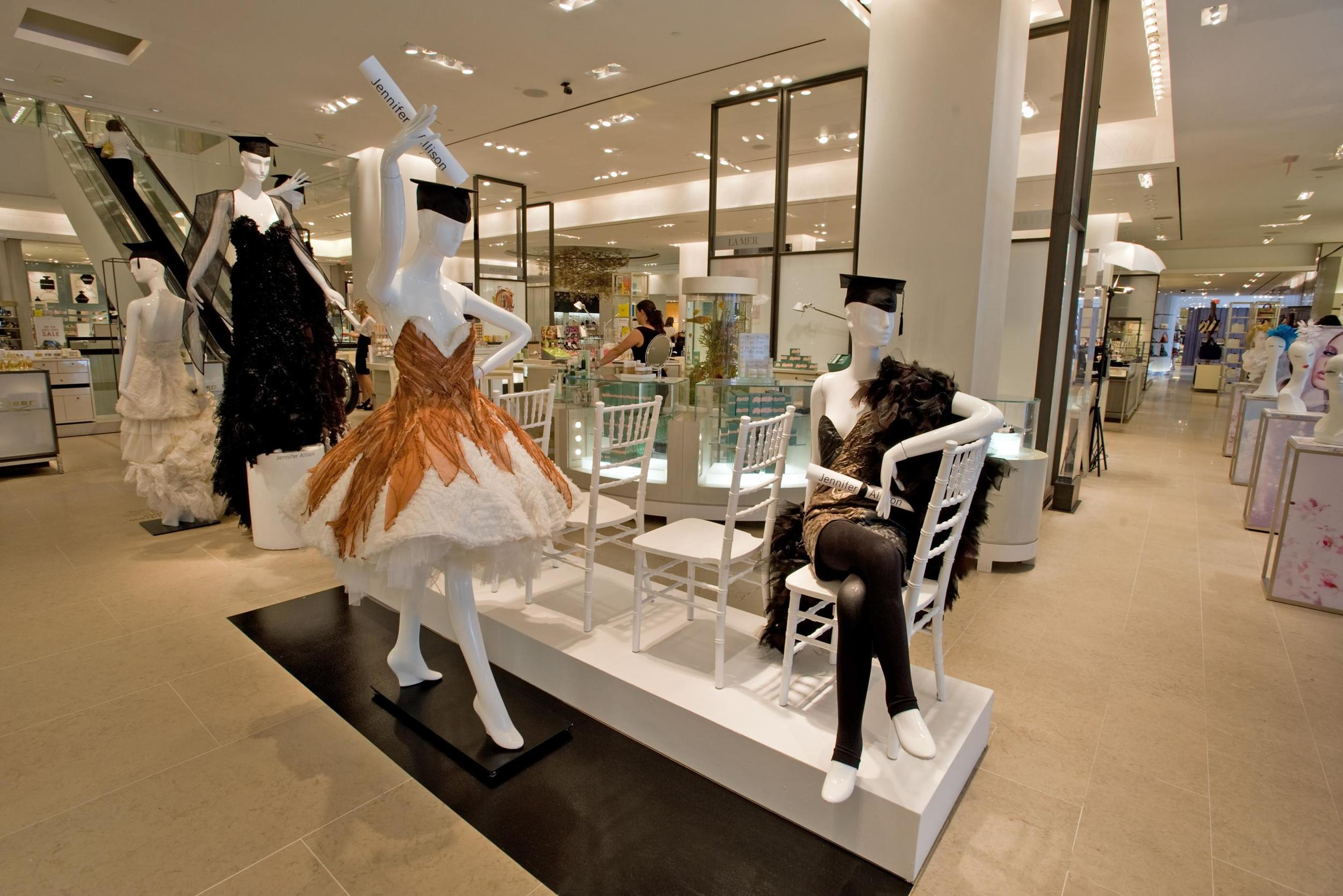 A display inside Holt Renfrew