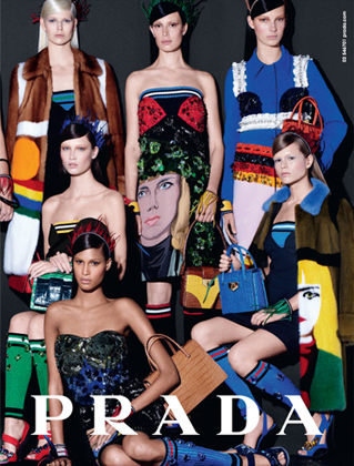 The new Spring/Summer 2014 Prada campaign shot by Steven Meisel