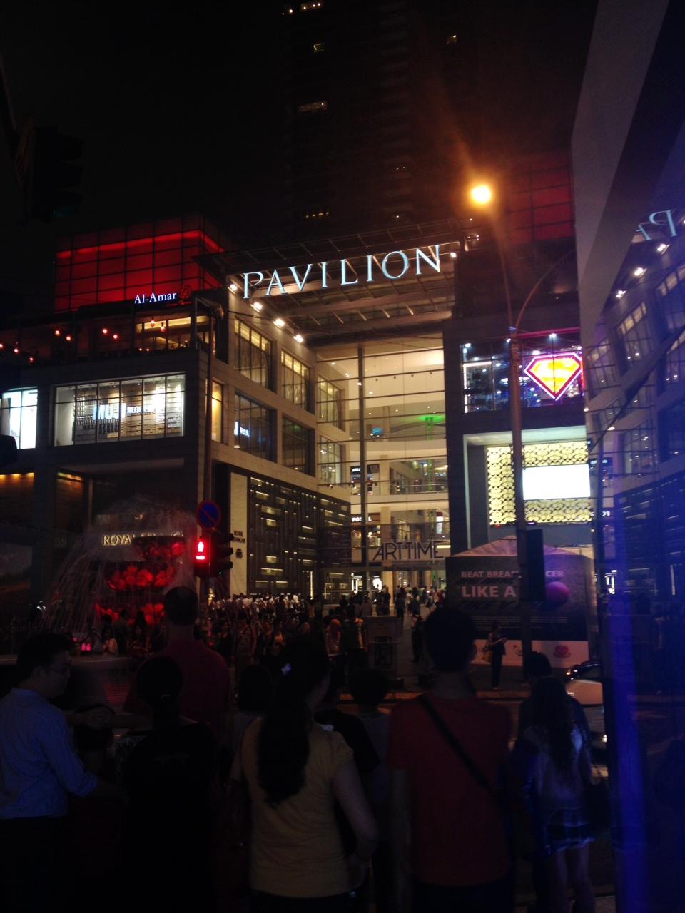 Pavilion Shopping Mall, Bukit Bintang   Photo: Natalia Zurowski