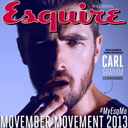 Carl Graham   Photo: Esquire MY