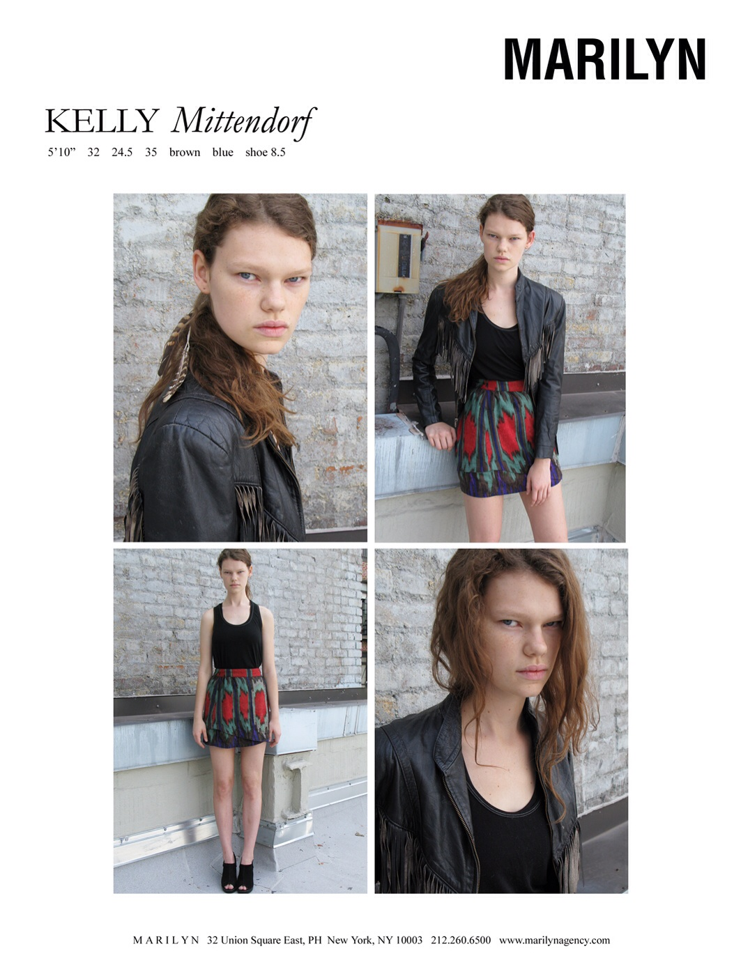 Kelly Mittendorf works very well in Tokyo and is with Bravo Models | Marilyn New York