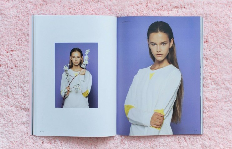 Shot of fashion zine JMB |  The Calvert Journal