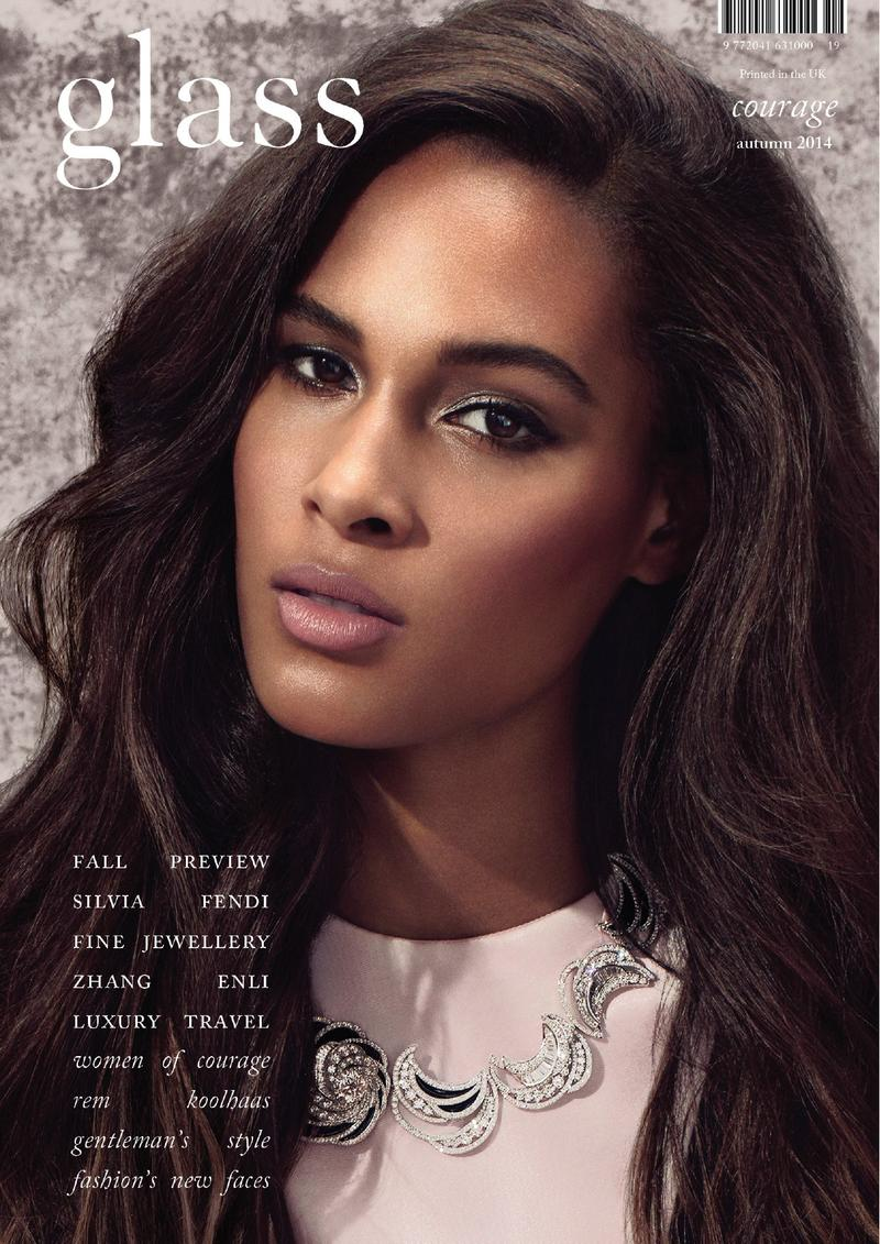Cindy Bruna is one of the ten models of colour confirmed to walk in this year's Victoria's Scret Fashion Show | Glass magazine cover shot by Christopher Melton via  Models.com