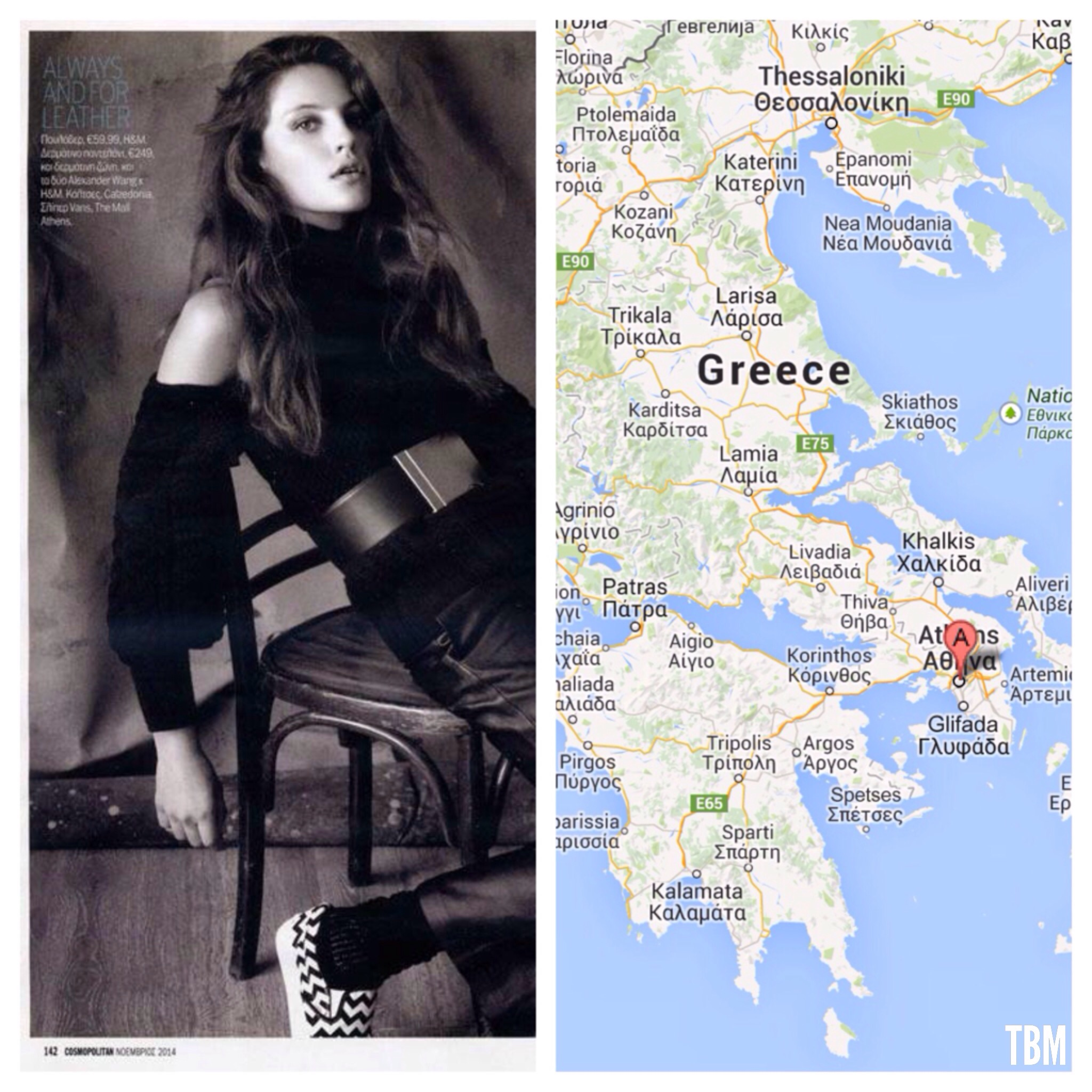 Cosmopolitan Greece by George Katsanakis | Athens, Greece via Google Maps