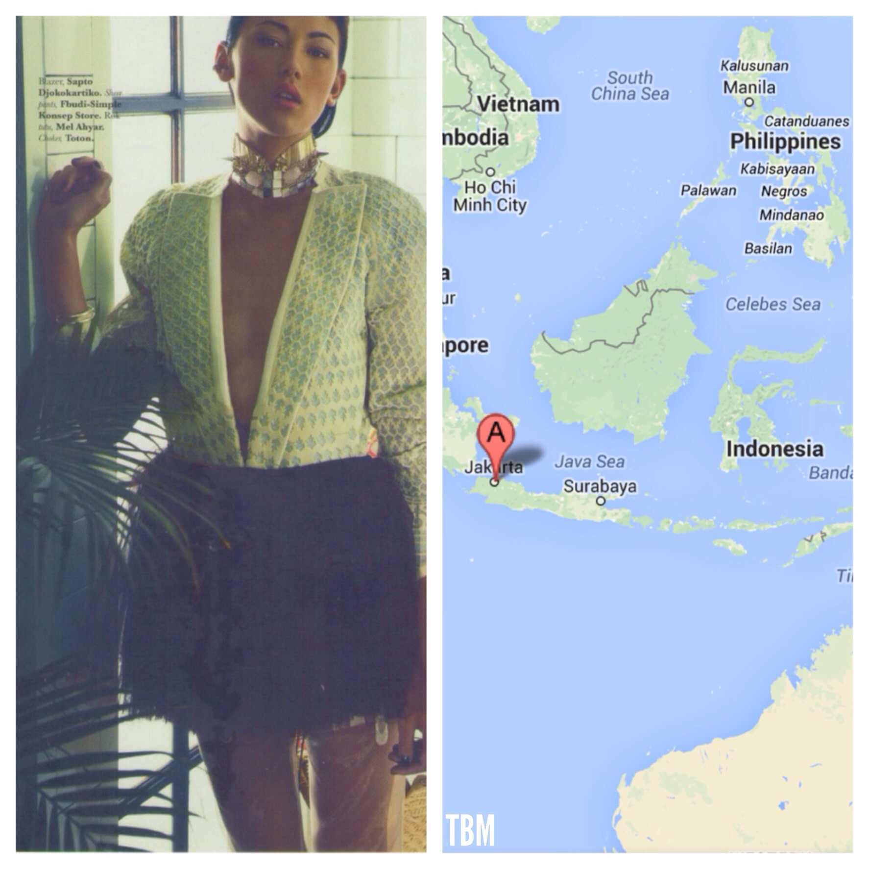 ELLE Indonesia by Jackie Suharto | Jakarta, Indonesia via Google Maps