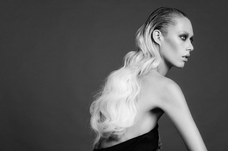 Julia Stone modellinghair and make-up by Natalie Ventola