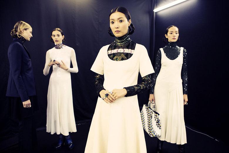 Backstage at Dior | Vogue.com