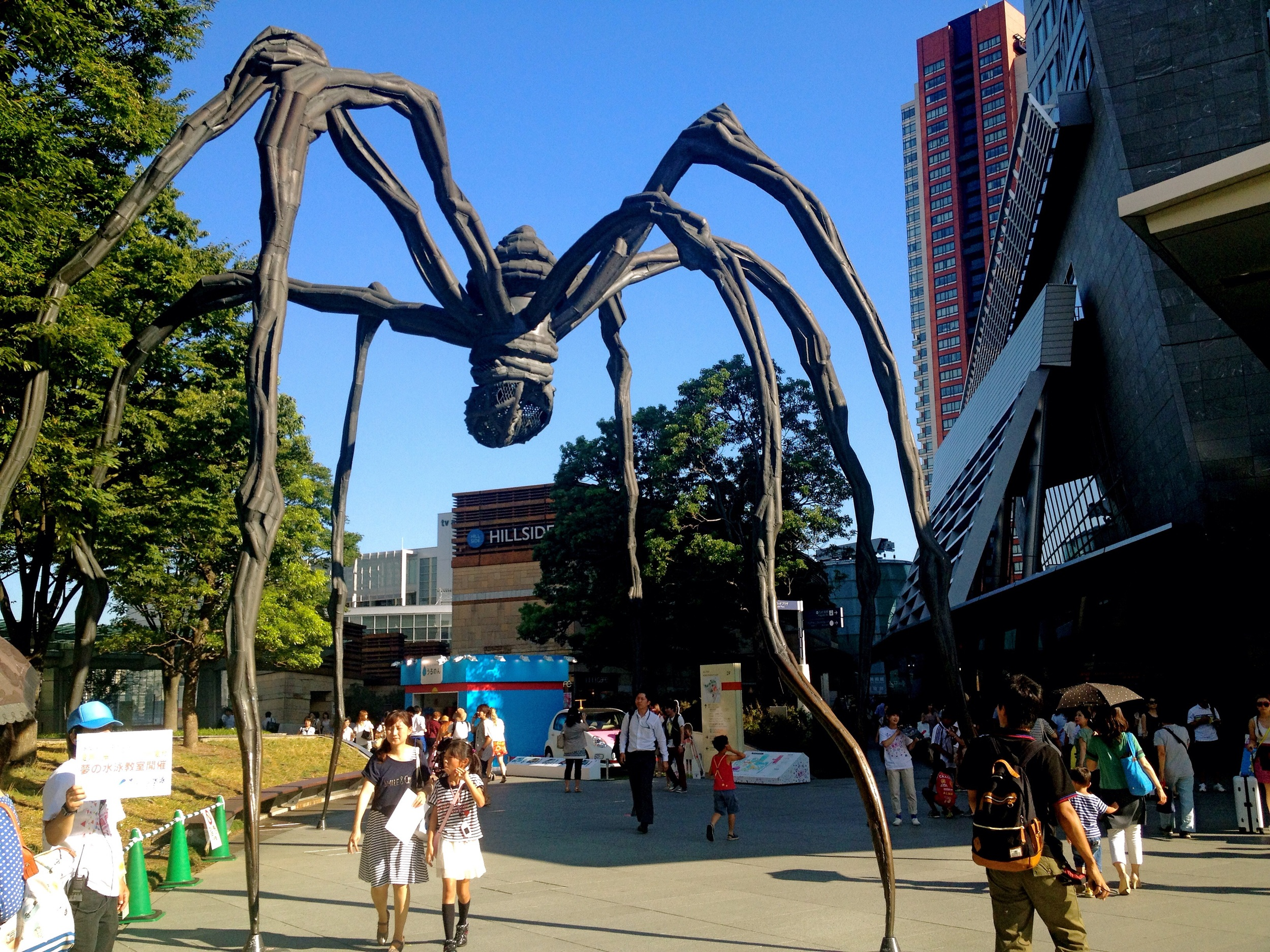 ' Maman' giant spider sculpture   - To make Aussie models feel right at home
