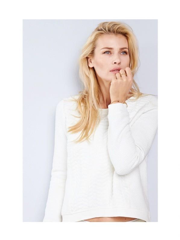 Daniela Pestova in German company S. Oliver's Spring/Summer 2015 Campaign shot by Marco Trunz |  Models.com