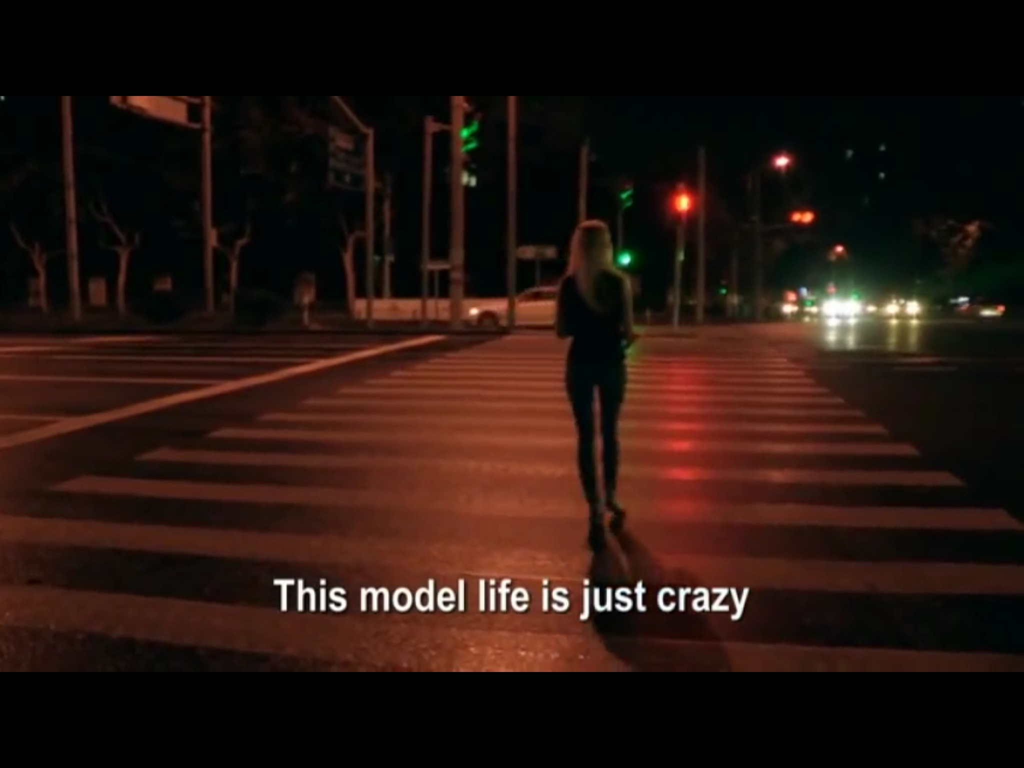 Model Kristinareflects on her experiences | Still from Siberian Supermodels