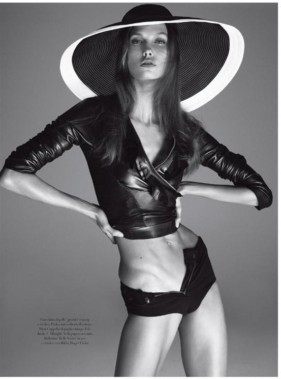 Karlie Kloss in  Vogue Italia  December 2011 bySteven Meisel|  Source