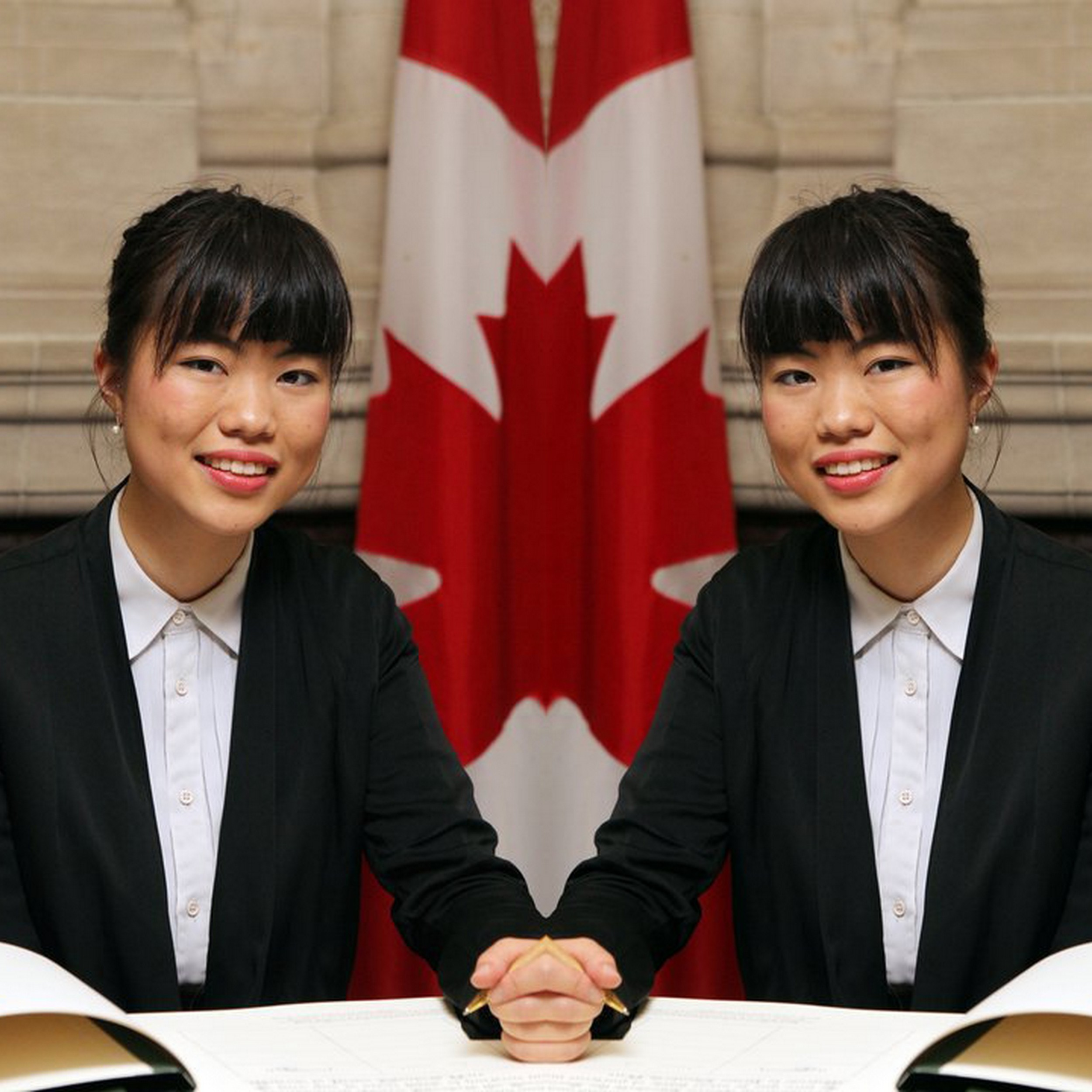 Member of Canadian Parliament Laurin Liu | Original image   source