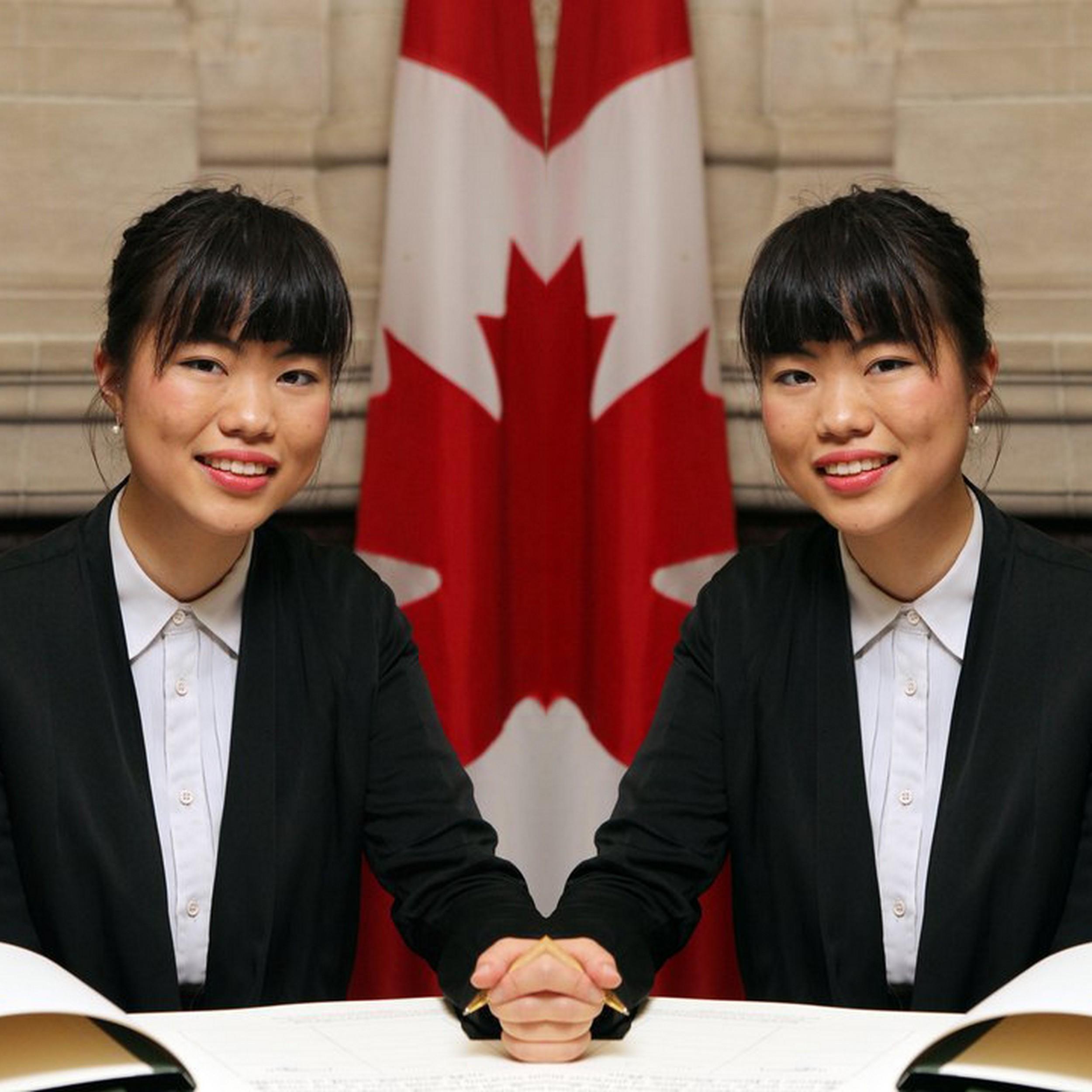 Member of Canadian Parliament Laurin Liu | Original image  source