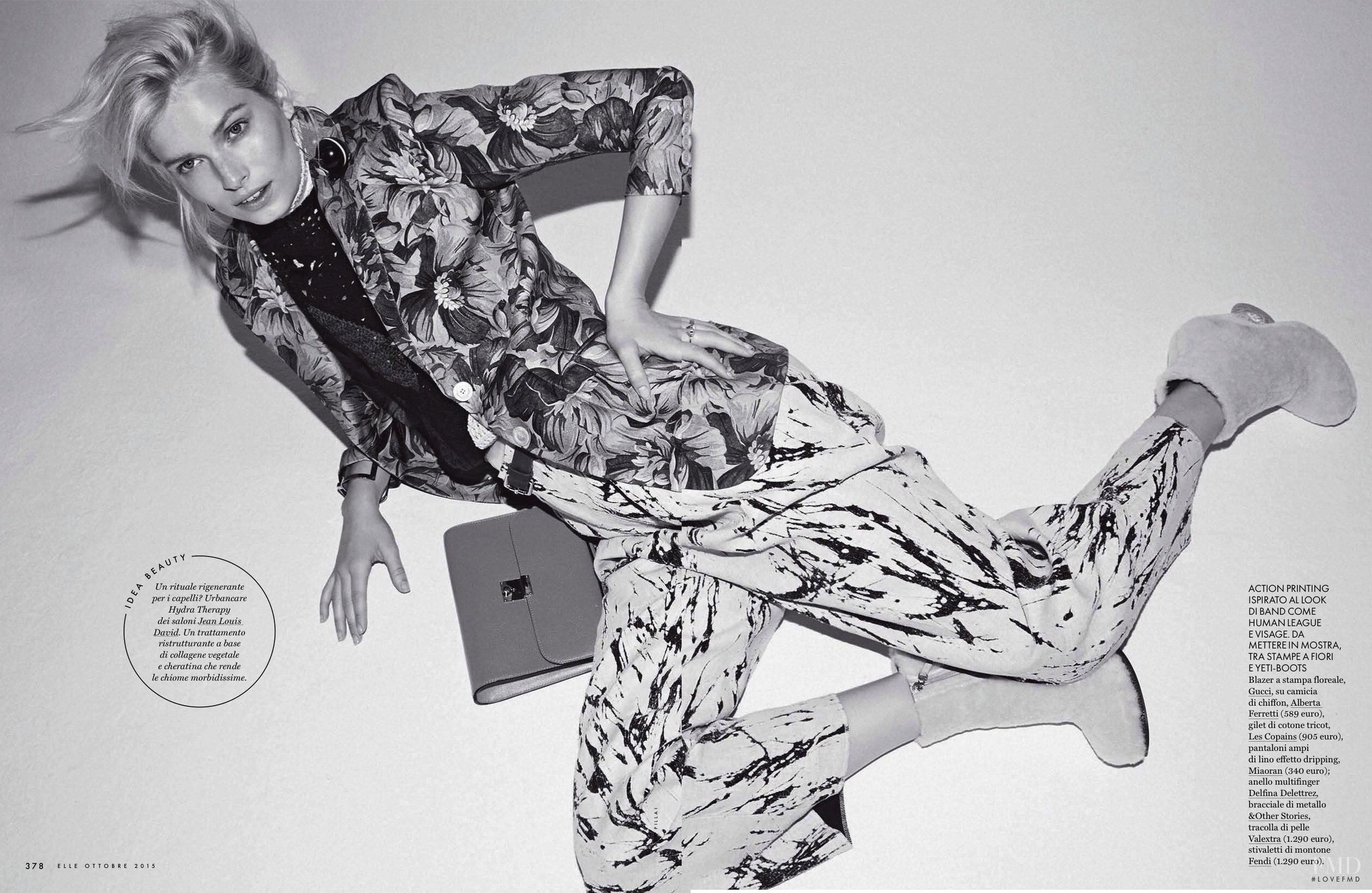 Bree Smith for Elle Italia by Mark Pillai |  Source