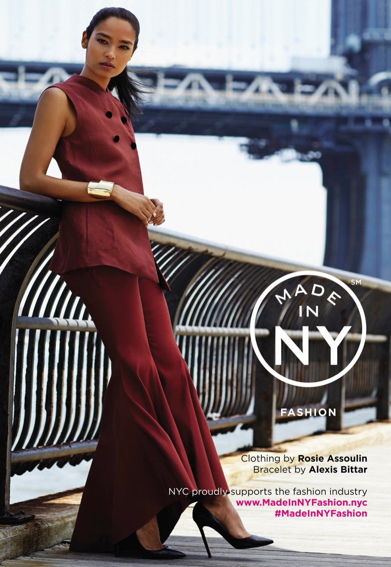 Shivani for  Made In New York 2014