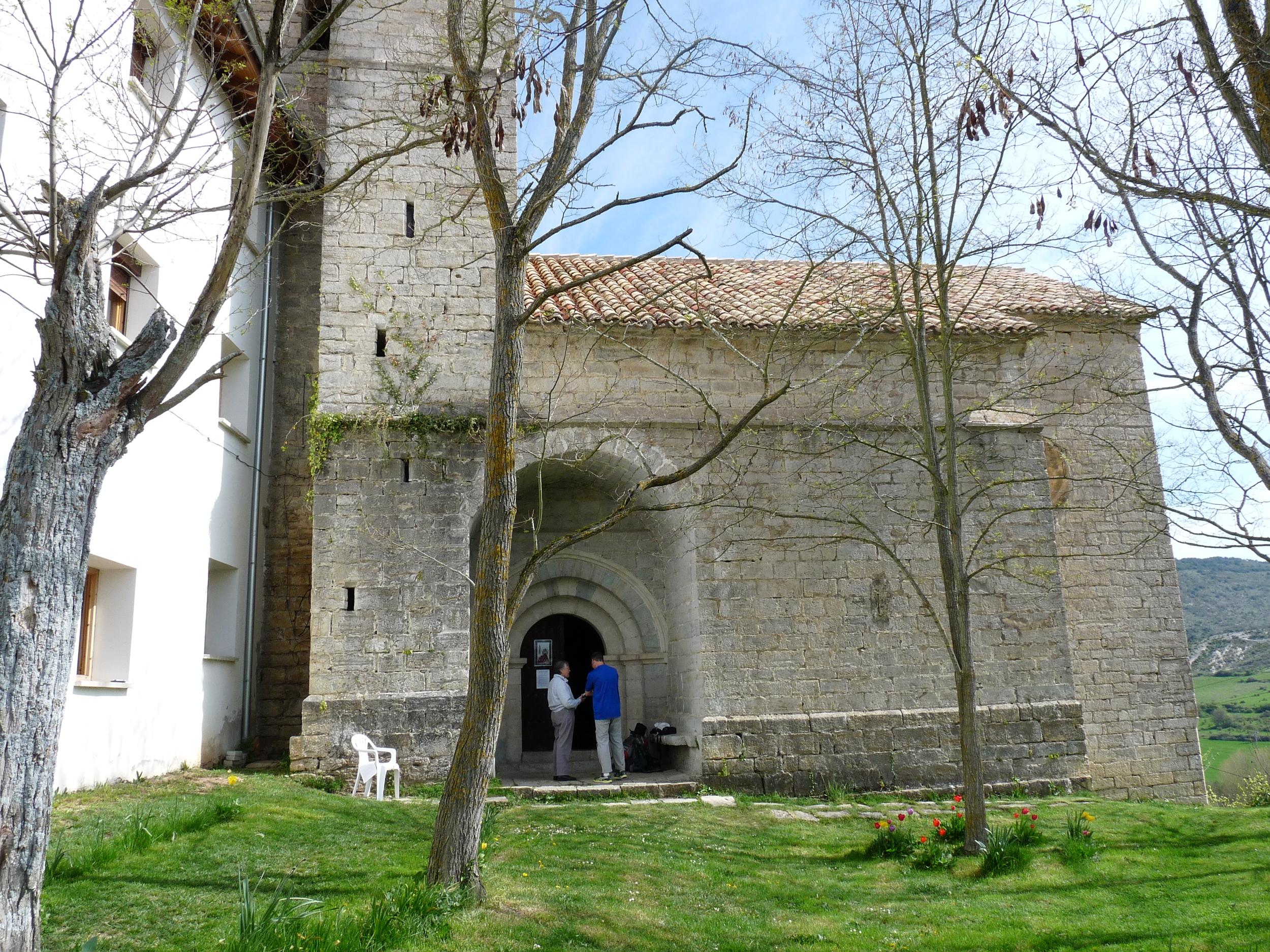 The church in Zabaldika