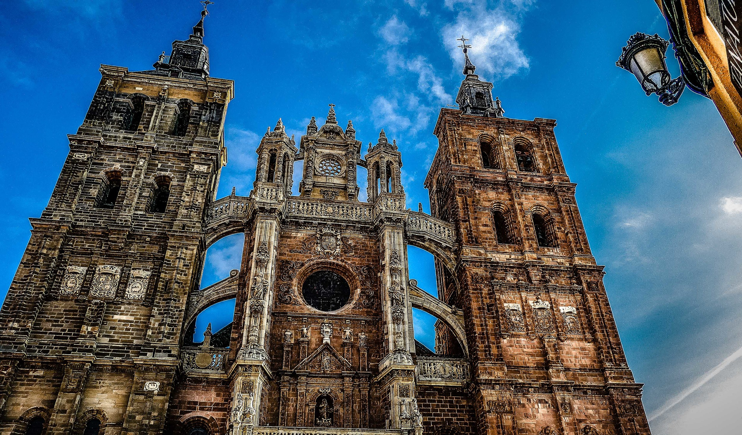 The Cathedral in Astorga