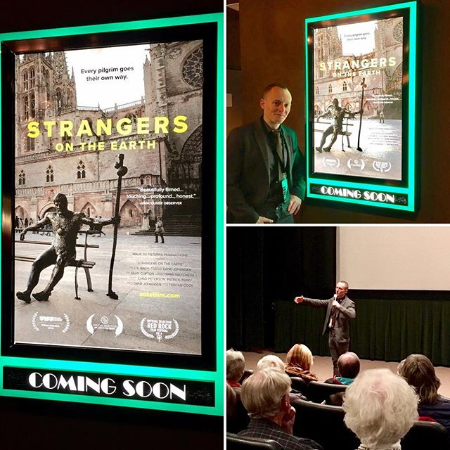 Sincere thanks to the @santafefilmfestival for a wonderful screening last night! We're very grateful to share this journey with your audience and your city #cinemadifferent #santafe #newmexico #strangersontheearth