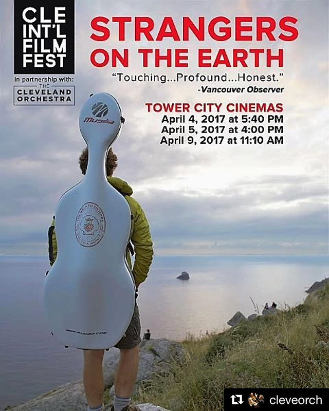 #repost from @cleveorch don't miss our screening today @towercitycinemas #ciff41
