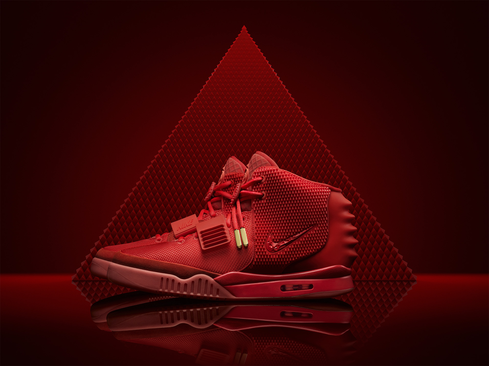 Nike Air Yeezy II Red October