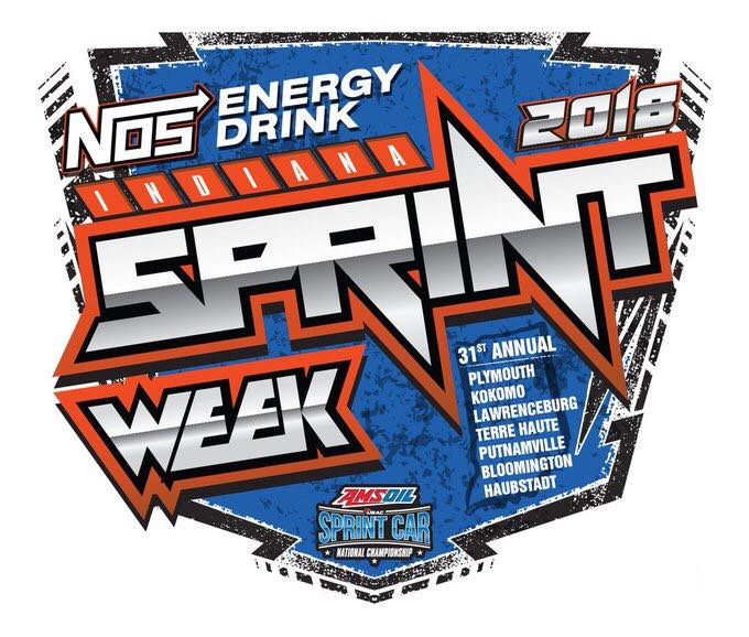 Upcoming Events: AMSOIL USAC Indiana Sprint Week presented by NOS Energy Drink    7/20 Plymouth Speedway - Plymouth, IN  7/21 Kokomo Speedway - Kokomo, IN 7/22 Lawrenceburg Speedway - Lawrenceburg, IN 7/25 Terre Haute Action Track - Terre Haute, IN 7/26 Lincoln Park Speedway - Putnamville, IN 7/27 Bloomington Speedway - Bloomington, IN 7/28 Tri-State Speedway - Haubstadt, IN