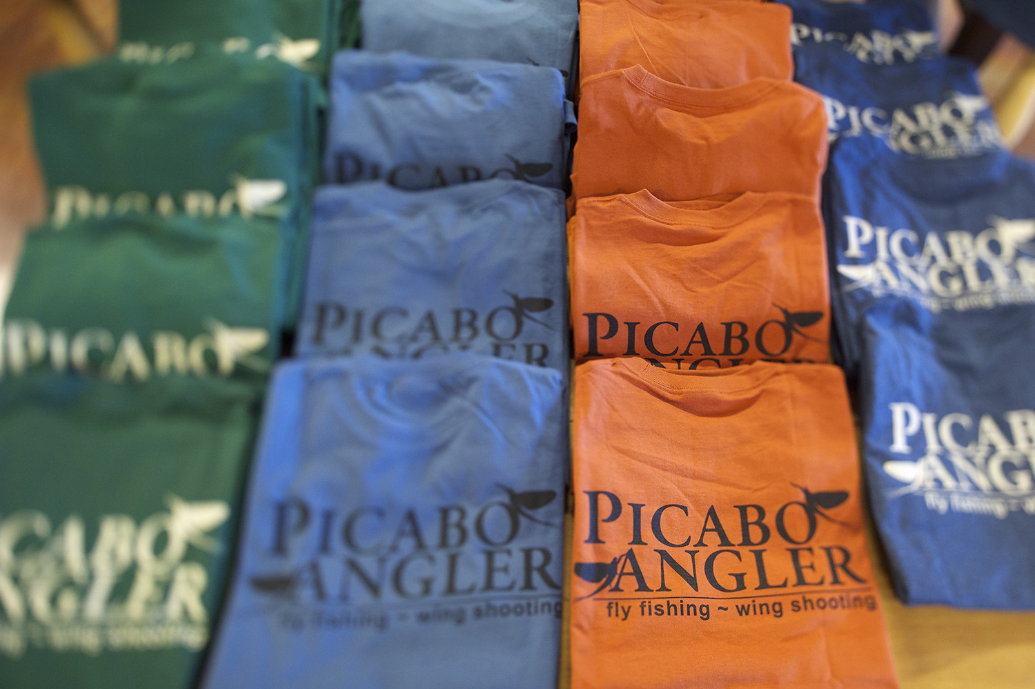 Picabo Angler T-Shirts hot off the press. You know you need one!