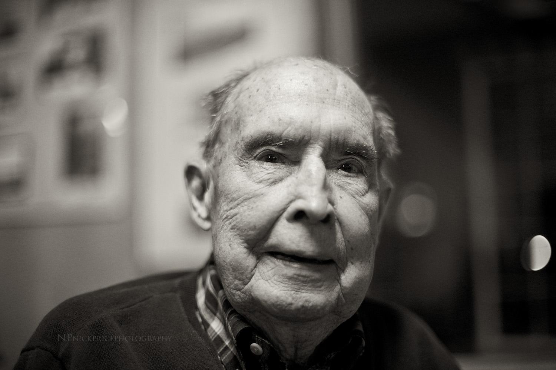 Bud Purdy. 96th birthday party. Picabo, Idaho.