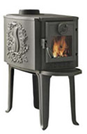 Morso 2B Standard.  A classic Scandinavian wood stove design that's timeless.  Medium to smaller heating spaces.  Made in Denmark