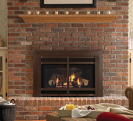 The Supreme-I30 is a great way to transform your drafty fireplace into a beautiful, efficient source of warmth. A unique footprint enables the Supreme to fit into many smaller fireplace openings, too.
