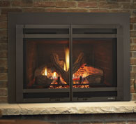Escape FireBrick inserts offer high-efficiency heating and impressive flames. Exclusive FireBrick® material provides authentic masonry appearances and bolstered heat outputs. Match your mood with a full function remote and designer finishing options.