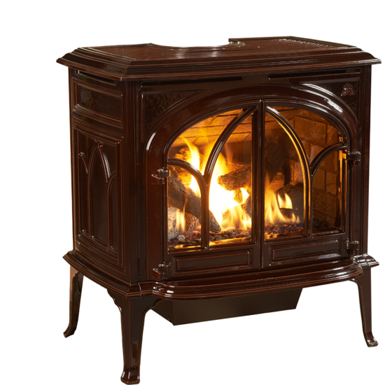 Meet the newest member of the Jotul gas stove family. A descendent of our signature best-selling Jøtul F 500 Oslo wood stove, the Jøtul GF 500 DV IPI Portland offers the same whole house heating capabilities at the push of a button. Fueled by the new ceramic JøtulBurner™ IIIthe Jøtul GF 500 presents the perfect union of high efficiency and timeless cast iron design.