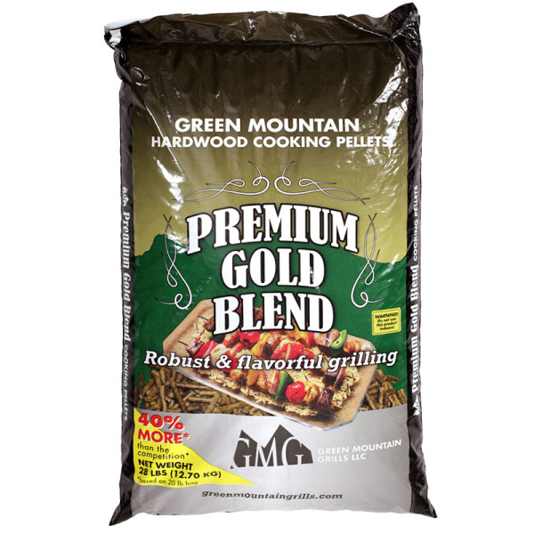This mellow blend of red oak, hickory, and maple subtly flavors your food without overpowering it. These are some of the hardest of the hardwoods and produce a long burn with modest smoke.