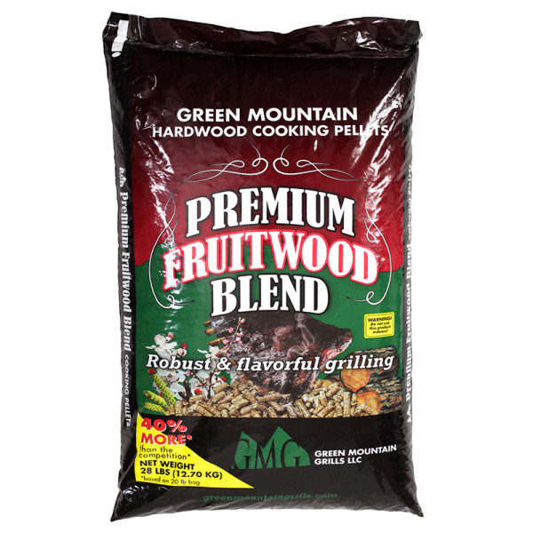 This bold blend of cherry, beech, and pecan (yes, pecan is a fruit!) smells sweet when you cook with it and adds character to whatever you grill. This blend is favored by competition barbecue teams nationwide.